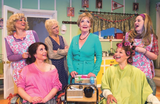 The Queen's Theatre produced Steel Magnolias in 2015. Photo Mark Seppl