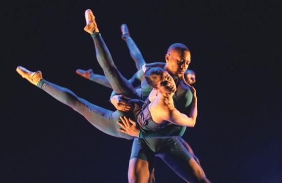 BalletBlack's Indigo Children at the Royal Opera House, Linbury Studios, 2008. Photo Tristram Kenton