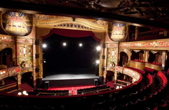 Hackney Empire auditorium. Photo: Matt Humphrey