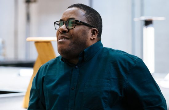 Playwright Roy Williams. Photo: Helen Murray