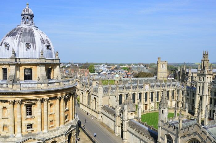 Radcliffe Camera and All Souls College, Oxford University. Photo: Paul Wishart/Shutterstock