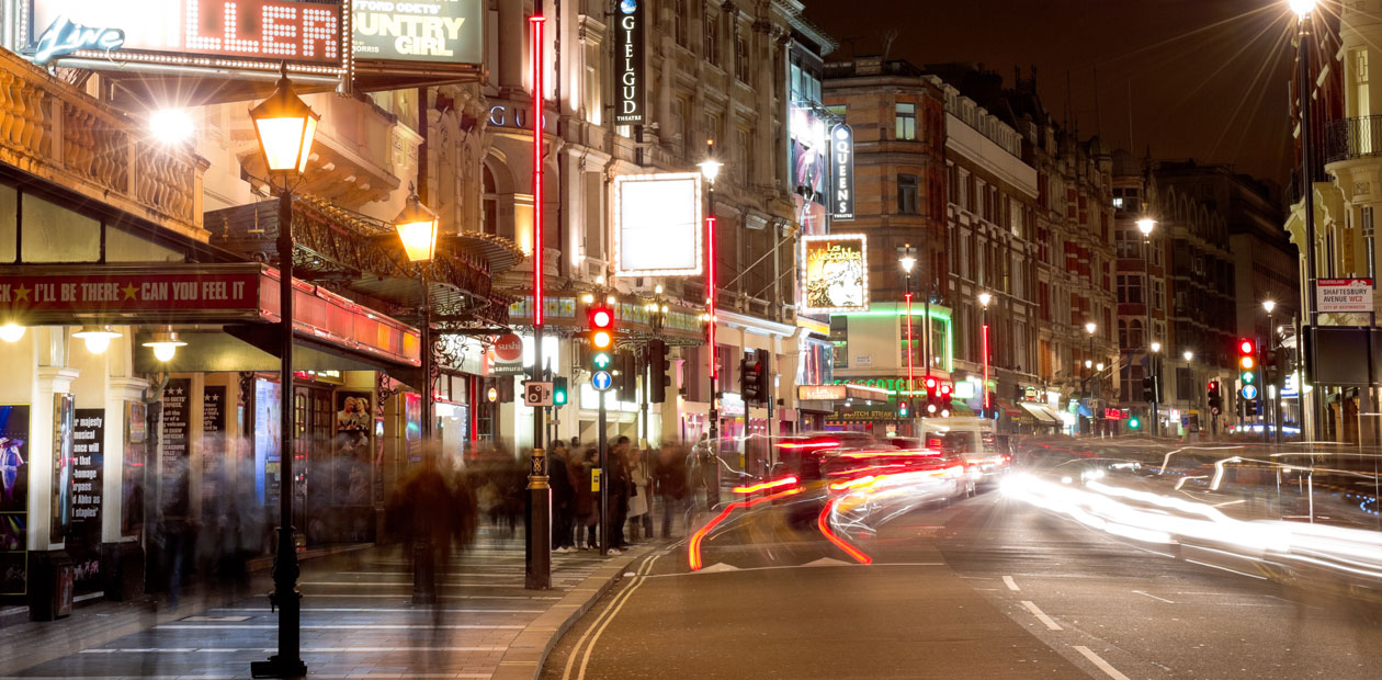 West End theatres... under threat? Photo: Alex Brenner