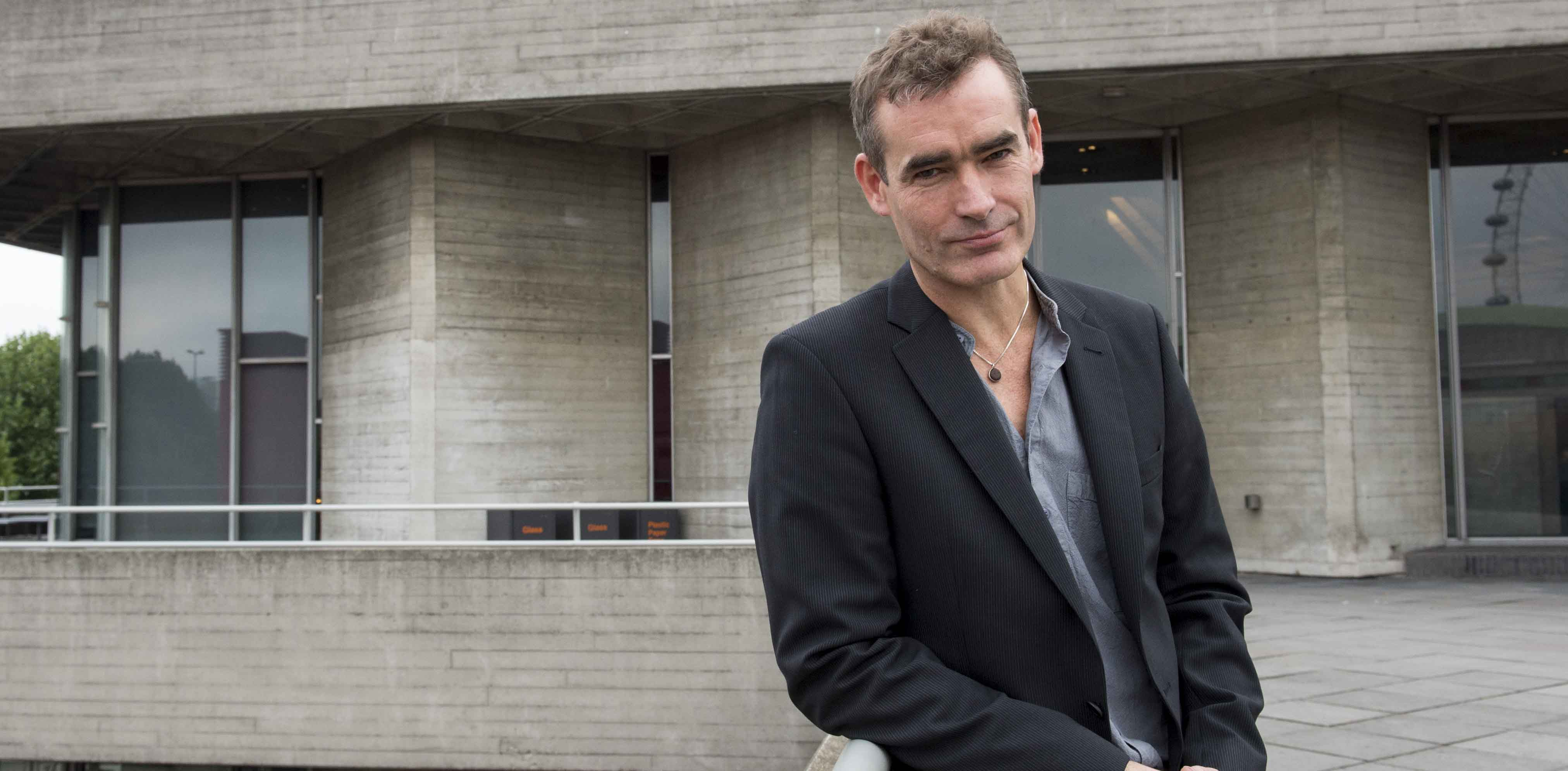 Rufus Norris outside the National. Photo: Richard H Smith
