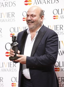 Casey Nicholaw, winner of the Best Theatre Choreographer Award for The Book Of Mormon