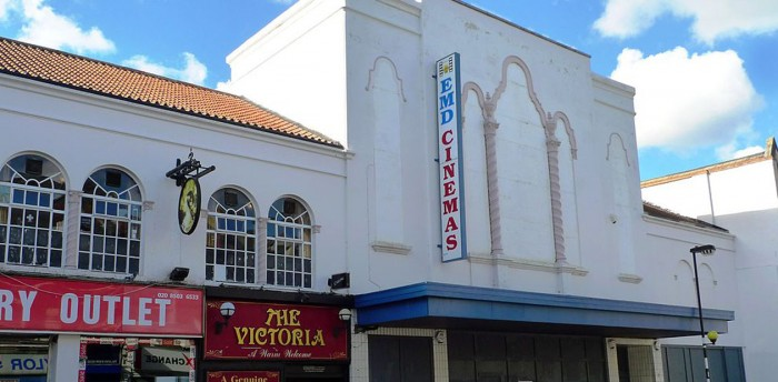The former cinema in Walthamstow, which Soho Theatre plans to turn into a 1000-seat venue. Photo: Ewan Munro