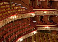 Leeds Grand Theatre's auditorium, which is home to Opera North