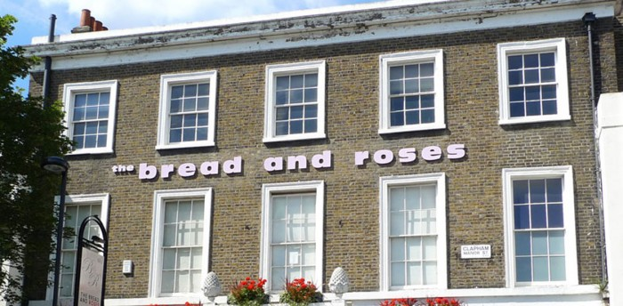 The Bread and Roses pub in Clapham, which is to open another theatre space in Kings Cross