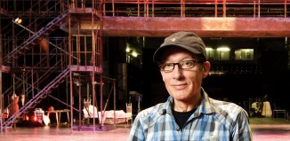 Paul Kerryson picked up The Stage award for outstanding contribution to British Theatre at the UK Theatre Awards