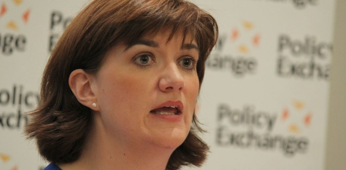 Education secretary Nicky Morgan. Photo: Policy Exchange