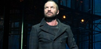 Sting performing in The Last Ship on Broadway. Photo: Matthew Murphy