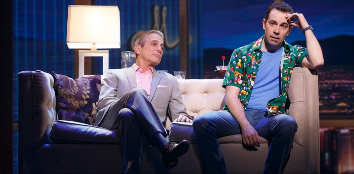 Tony Danza and Rob McClure in Honeymoon in Vegas