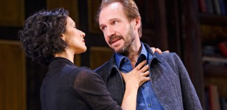 Ralph Fiennes and Indira Varma in Man and Superman. Photo: Tristram Kenton