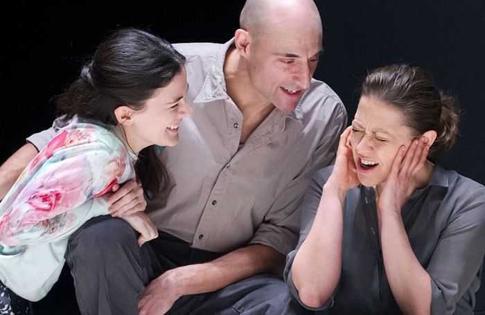 Phoebe Fox Mark Strong And Nicola Walker In A View From The Bridge At