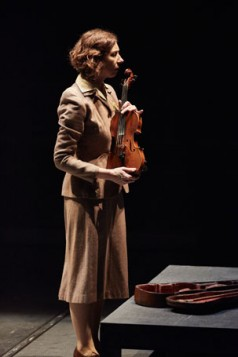 Amanda Hadingue as Alma Rose in Playing For Time. Photo: Mark Douet