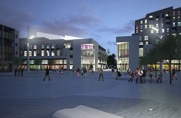 Southampton's proposed new arts complex