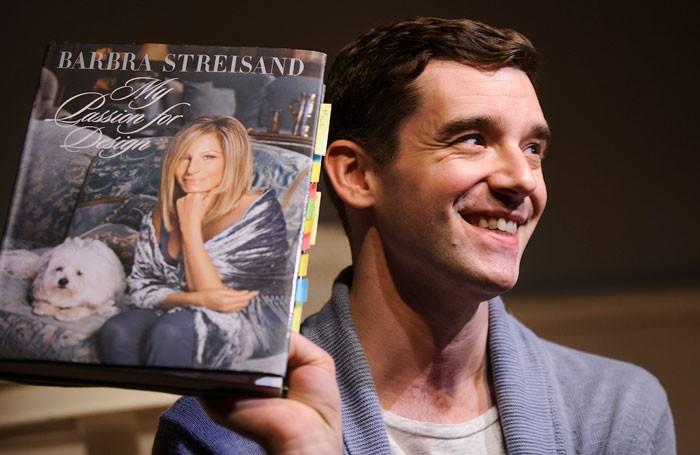 Michael Urie in Buyer and Cellar at the Menier Chocolate Factory