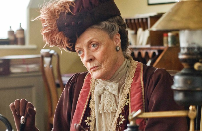 Maggie Smith in Downton Abbey. Photo: ITV Plc/Carnival Films