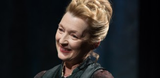 Lesley Manville in Ghosts at the Almeida Theatre. Photo: Hugo Glendinning