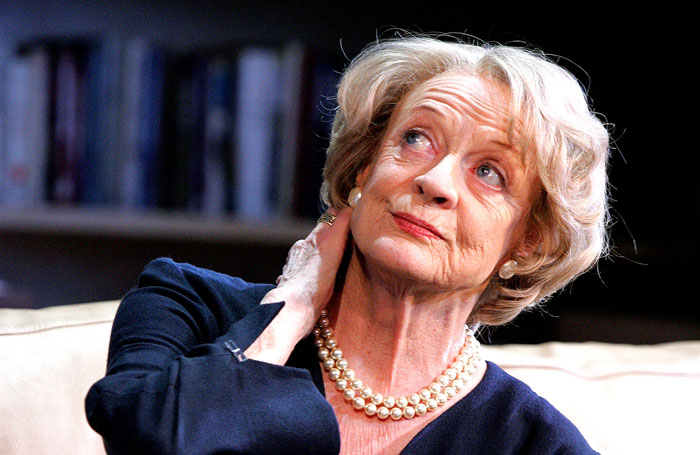 Maggie Smith Admits Stage Work Has Become Too Exhausting