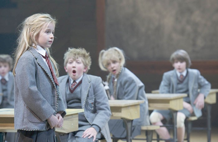 A scene from Matilda, one of the UK's biggest musical hits of the last few years. Photo: Manuel Harlan/RSC