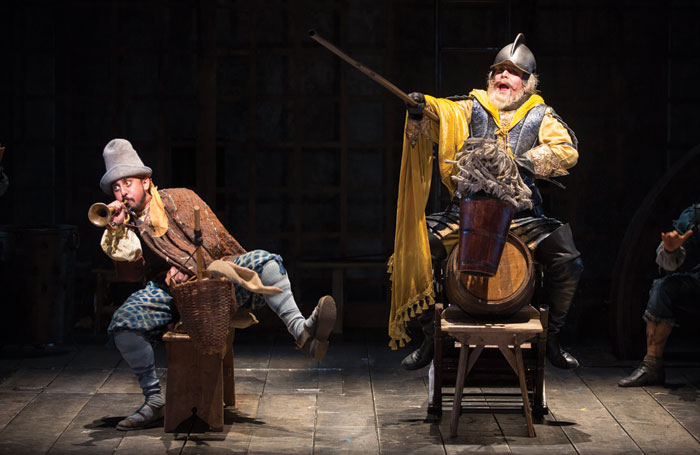 Nehal Joshi and Anthony Warlow in Man of la Mancha. Photo: Scott Suchman