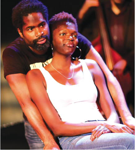 Ako Mitchell and Sheila Atim in Klook's Last Stand. Photo: Arnim Friess