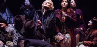 Sian Phillips as Fania Fenelon and cast of Playing for Time. Photo: Mark Douet