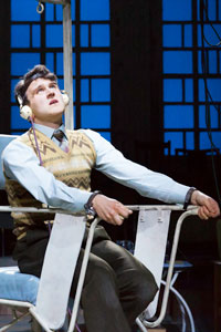 Harry Melling in The Hothouse at Trafalgar Studios. Photo: Johan Persson