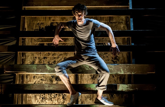 Gareth Murphy in Boy in Darkness. Photo: Lidia Crisafulli