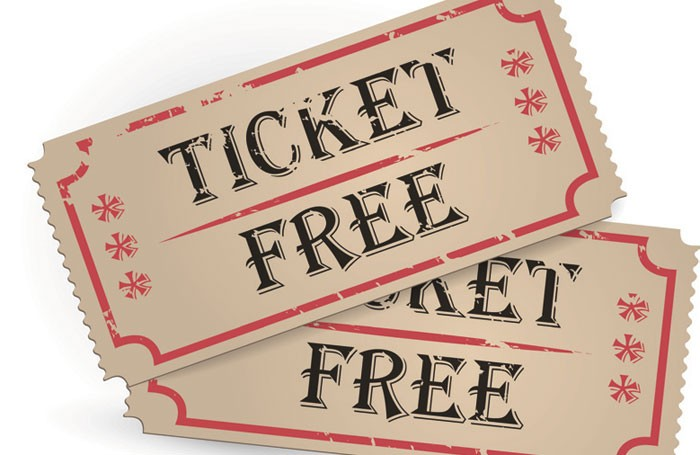 Image result for free tickets