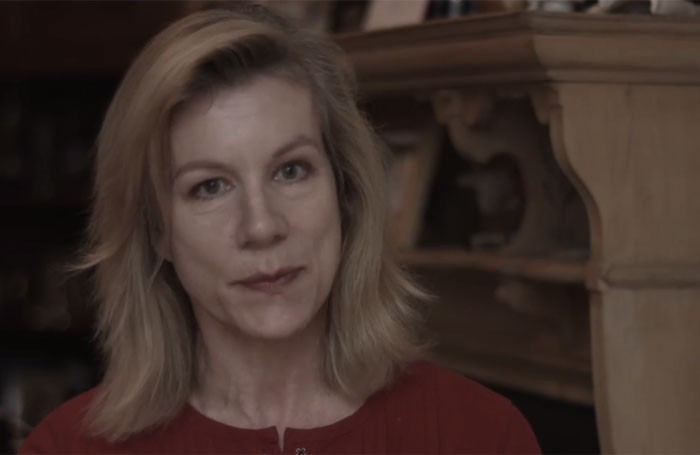 Juliet Stevenson is one of the actresses interviewed in Act for Change's trailer video