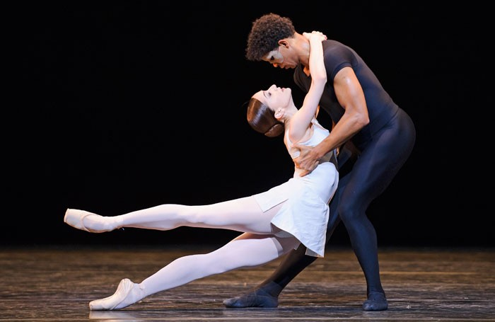 Marianela Nuñez and Carlos Acosta in Song of the Earth. Photo: Tristram Kenton