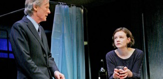 Carey Mulligan and Bill Nighy in Skylight at the National Theatre. Photo: John Haynes