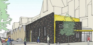 An artist's impression of the Streatham Playhouse