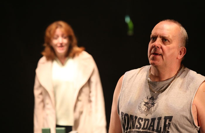 Jane Thornton and John Godber in Shafted!. Photo: Amy Charles Media