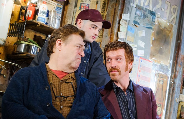 John Goodman, Tom Sturridge and Damian Lewis