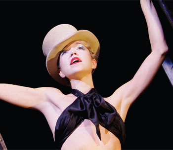 Anna Maxwell Martin in the De Frutos-choreographed Cabaret at the West End's Lyric Theatre in 2006. Photo Tristram Kenton