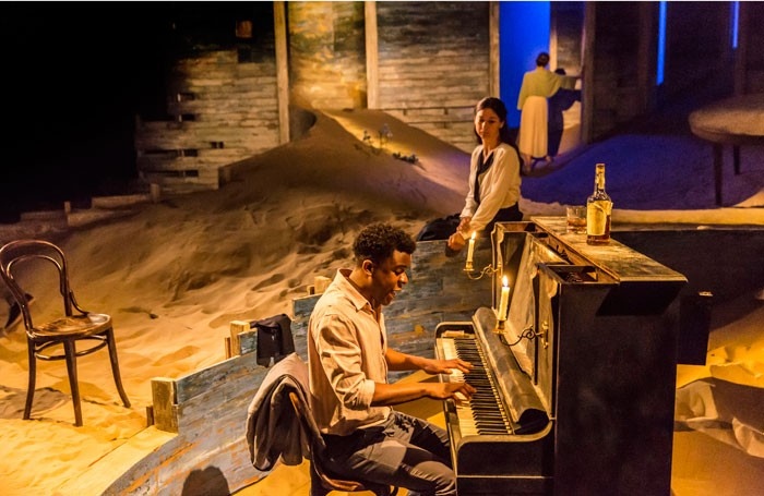 Ashley Zhangazha and Susannah Wise in Ah, Wilderness! at the Young Vic. Photo: Johan Persson