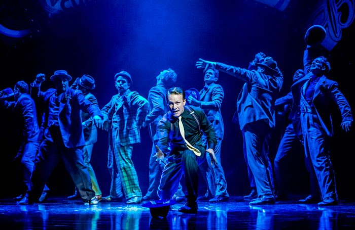 The 2014 production of Guys and Dolls at Chichester Festival Theatre featured choreography by Carlos Acosta. Photo: Johan Persson