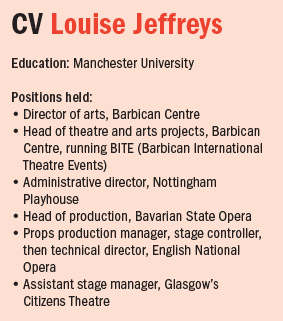 Louise Jeffreys CV