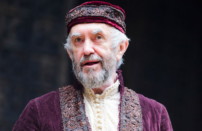 Jonathan Pryce (Shylock) in The Merchant Of Venice by William Shakespeare @ Shakespeare's Globe