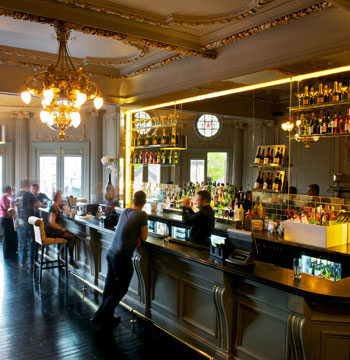 The Piano Bar at the ATG-owned New Wimbledon Theatre. Photo: Ben Fisher