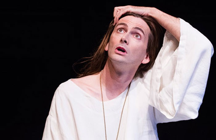David Tennant in Richard II at the Royal Shakespeare Theatre in 2013