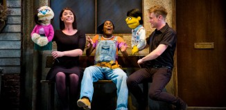 Avenue Q brings bawdy humour to the Theatre Royal, Windsor. Photo: Matt Martin
