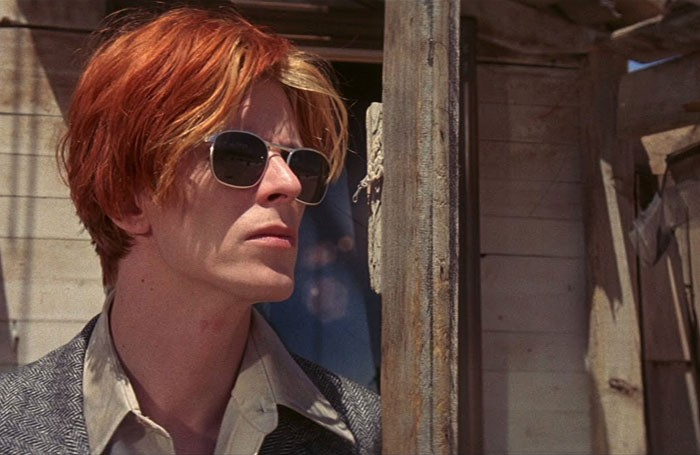 Bowie in Nicholas Roeg's 1976 film of The Man Who Fell to Earth