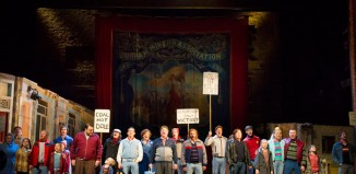 Billy Elliot the Musical, Victoria Palace Theatre. Photo: Alastair Muir