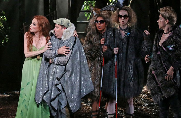 A scene from Into the Woods at Regent's Park Open Air Theatre in 2010. Photo: Catherine Ashmore