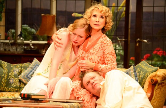 Starr says that current West End theatres are more suited to revivals such as Hayfever, seen here, than new work. Photo: Nobby Clark
