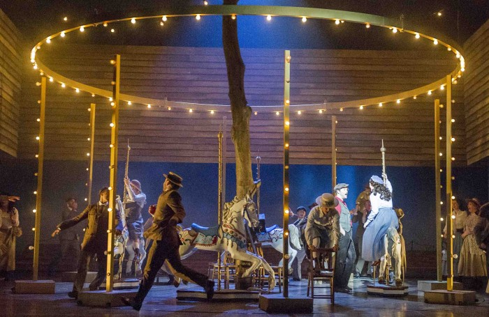 Scene from Opera North's production of Carousel. Photo: Alastair Muir
