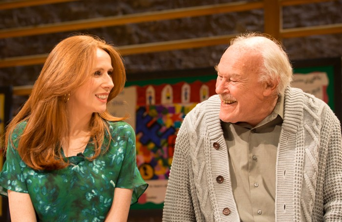 Catherine Tate and Timothy West. Photo: Johan Persson